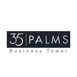 35 Palms logo